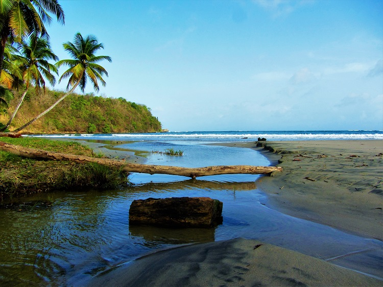 POTD - Cruising - Grenada - Beach With River