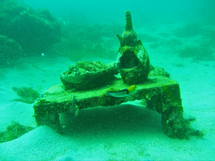 POTD - Cruising - Grenada - Underwater Sculpture - Table