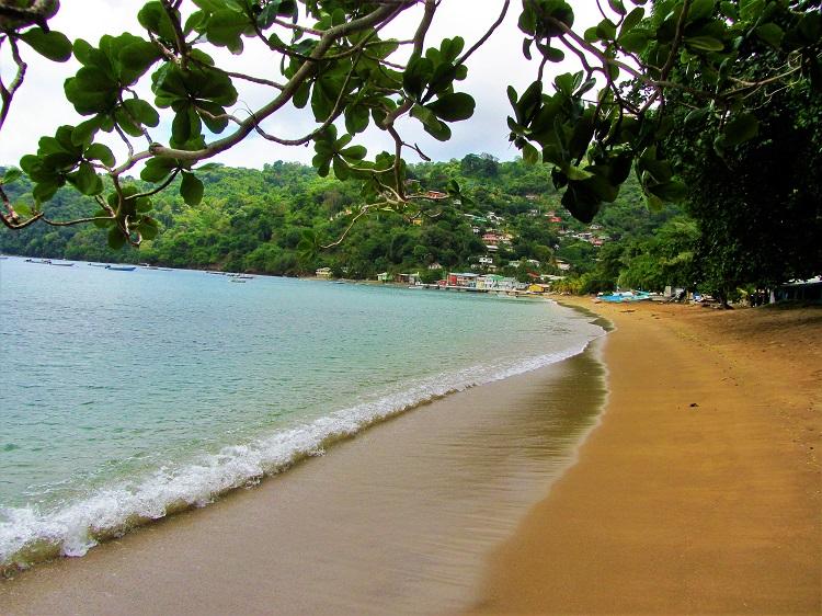 Charlotteville, Tobago beach