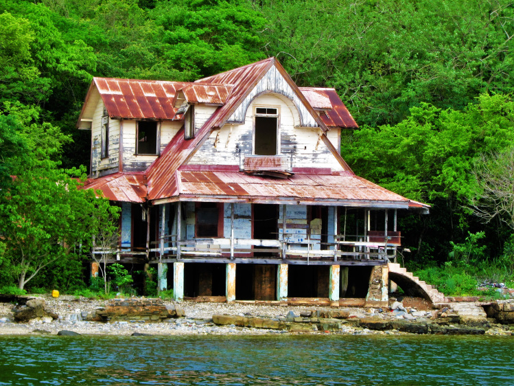 Leper colony on Chacachacare 1