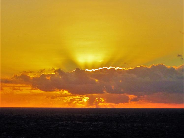 Sunrise from Ram Head