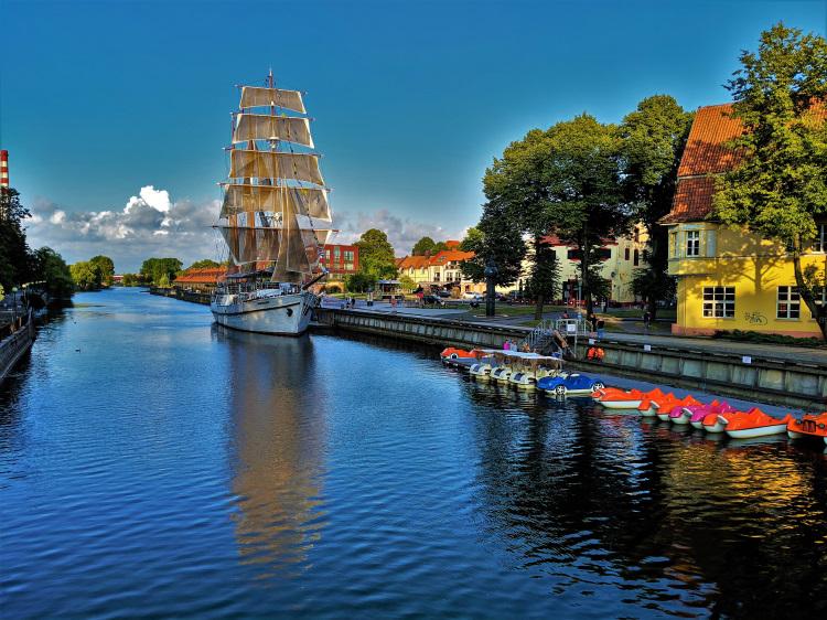 Lithuania - Klaipėda - River
