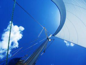 Sailing school - jib