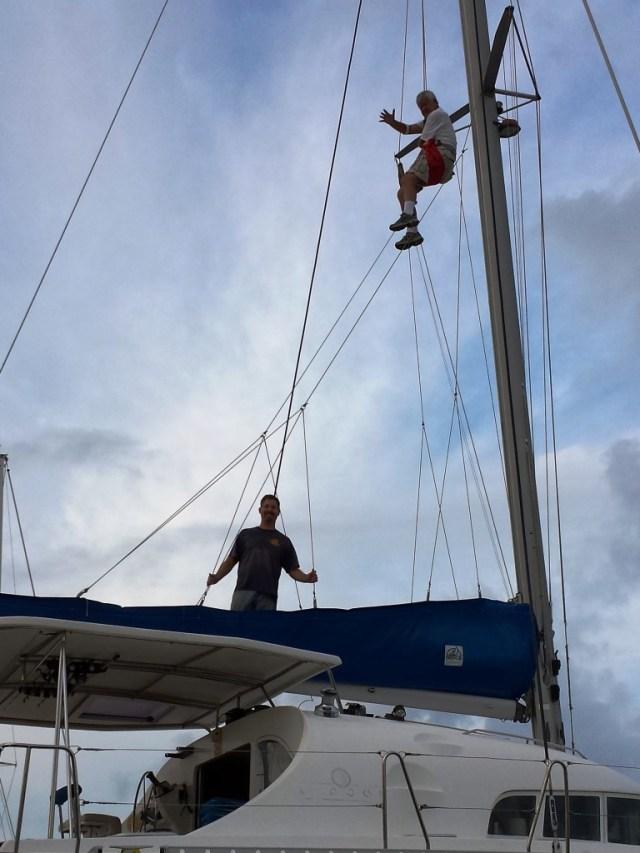 Guest - Mom & Dad - Dad Up The Mast