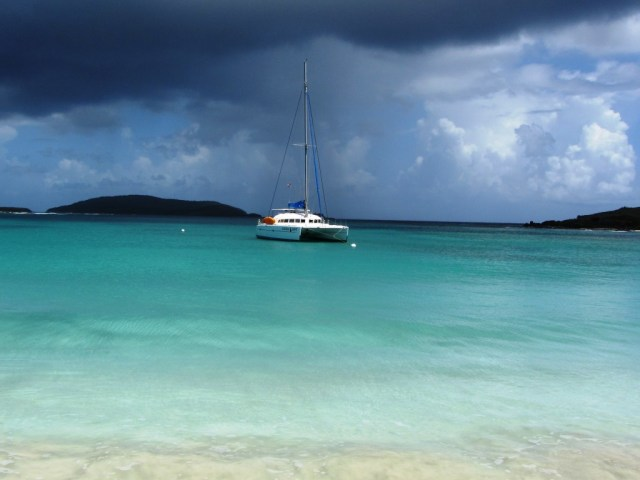 Anchored in Culebrita