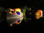 Chihuly - boat with glass balls