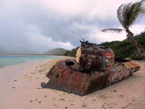 Culebra tank