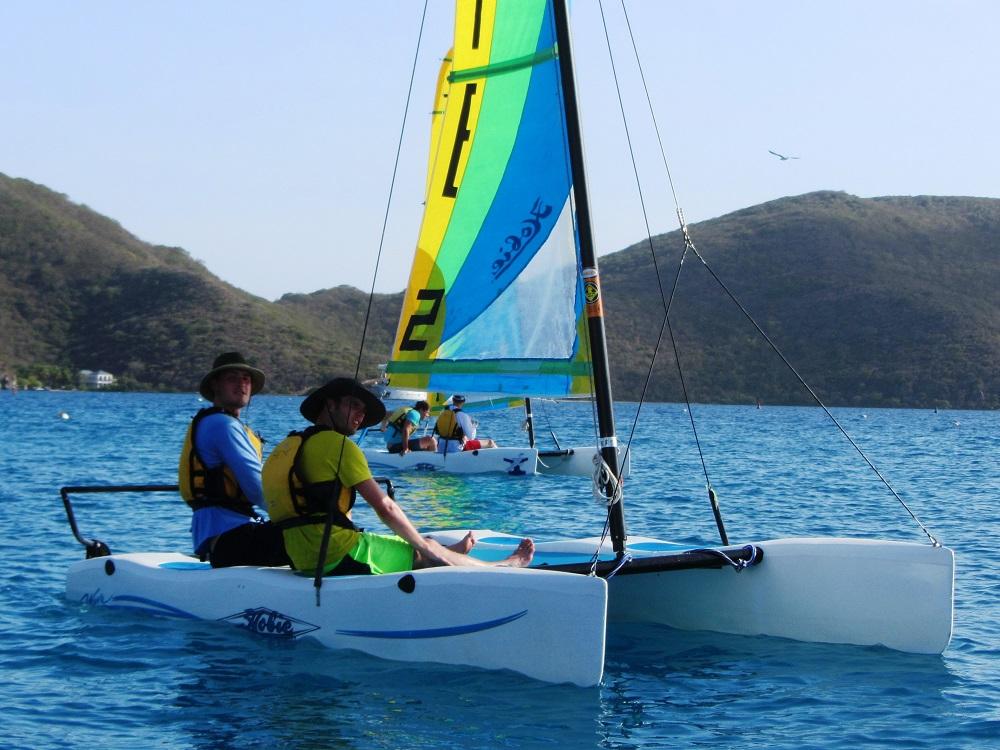 Sailing small boats