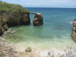 Natural bridge on the coast