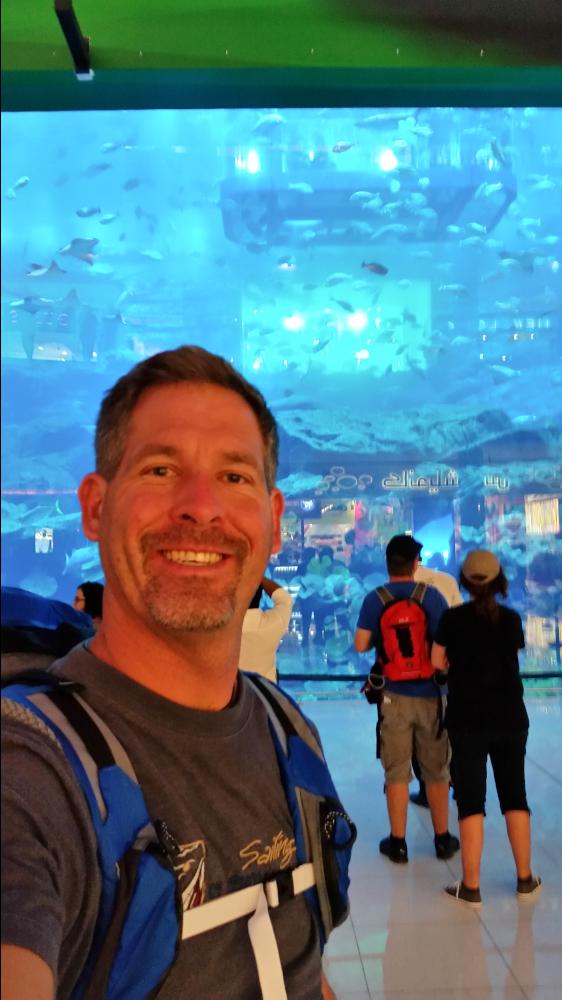 Aquarium in the mall