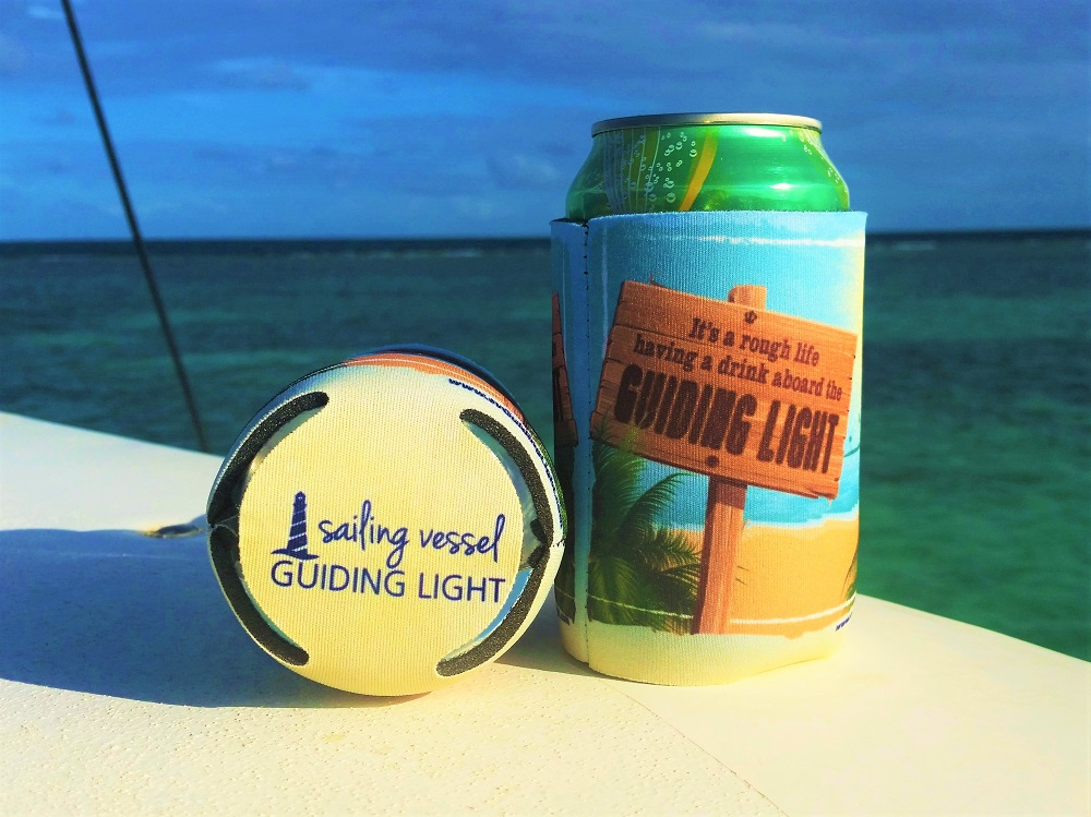 Guiding Light coozies