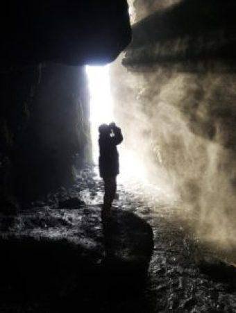 Iceland - 2 Seljalandsfoss - Eric In Canyon