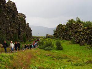 Iceland - 8 Bingvellir - Continental Rift With People
