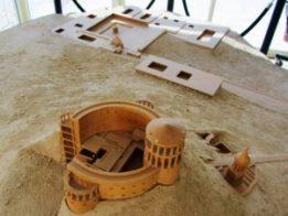 Israel - Bethlehem - Herodium - A Model