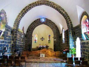 Israel - Sea of Galilee - Tabgha - Church of Peter's Confirmation - Interior