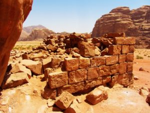 lawrence's house in Wadi Rum