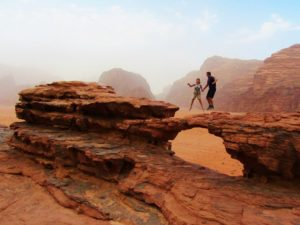 jordan-rock-bridge-in Wadi Rum