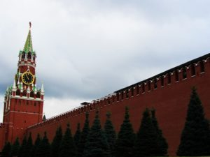 russia-moscow-4-kremlin-wall-clock-tower