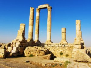 Jordan Travel Guide - Citadel - Hercules Temple