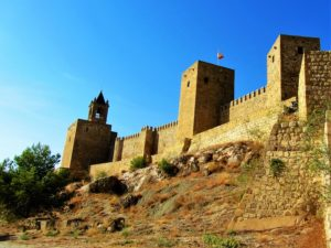 Moorish castle in Antequera