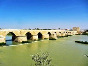 Roman bridge in Cordoba