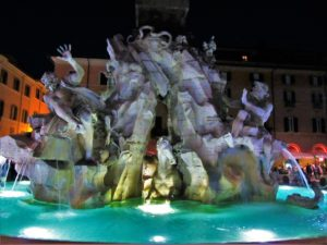 Angels & Demons - Piazza Novano 3- Fountain of 4 Rivers 2