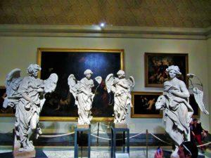 Vatican Museum's angels