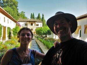Garden at Alhambra