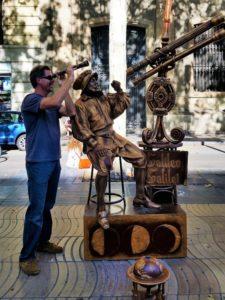 Spain - Barcelona - La Rambla - Galileo