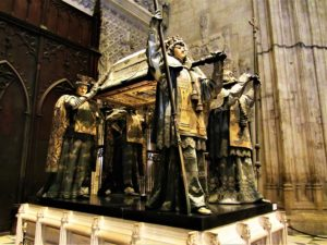 Spain travel guide - Seville - Cathedral - Columbus Tomb