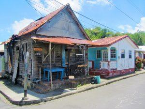 Anse La Raye houses