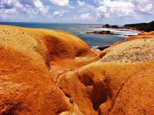 Red Rocks of Dominica