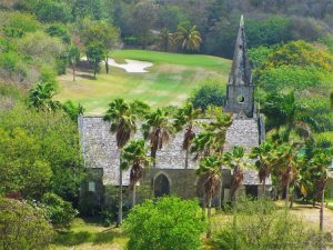 Canouan - church