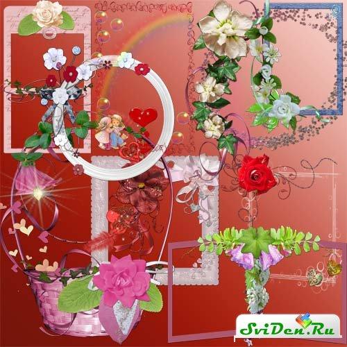 Очень красивые рамки для фотографий » Дизайн и графика ...