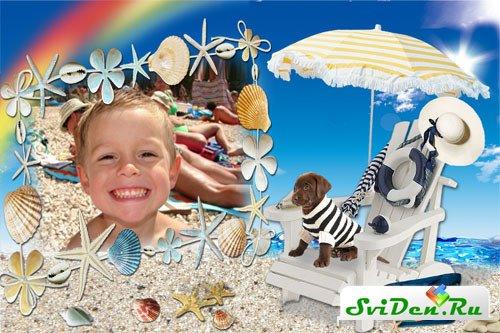 Красивые летние рамки для фотографий » Дизайн и графика ...