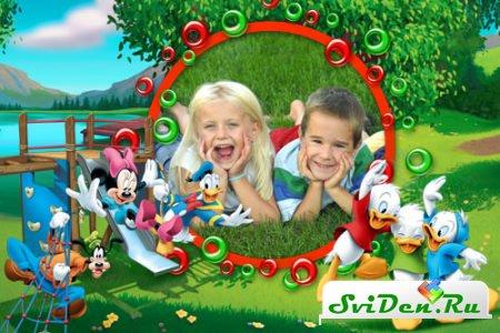 Очень качественные и красивые рамки для детских фотографий ...