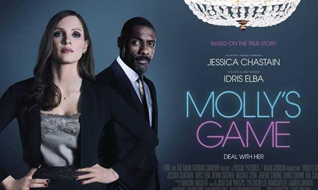 Recenzija: Molly's Game (2018)