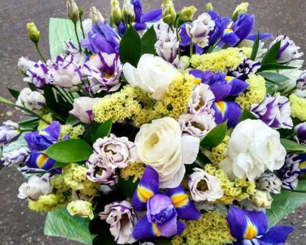Красивые букеты цветов 40 фото