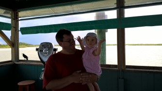 On the fish pier.