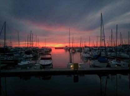 Sunset at Chula Vista
