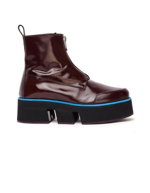 Enfants Riches Deprimes Platform Les Stompers Leather Boots