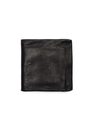 Guidi Black Leather Wallet