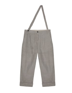 Lost&Found kids Grey Linen Trousers