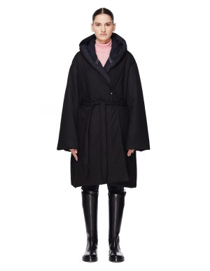 Isaac Sellam Drolatique Down Padded Leather Parka