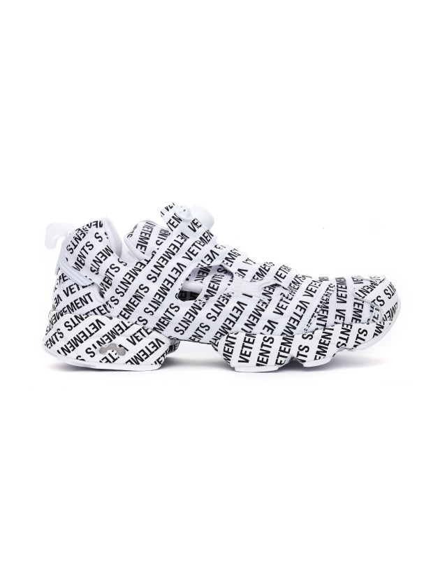 Vetements Reebok Insta Pump Sneakers
