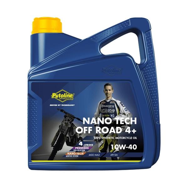 Putoline Off Road Nano Tech 4+ 10W-40 4L
