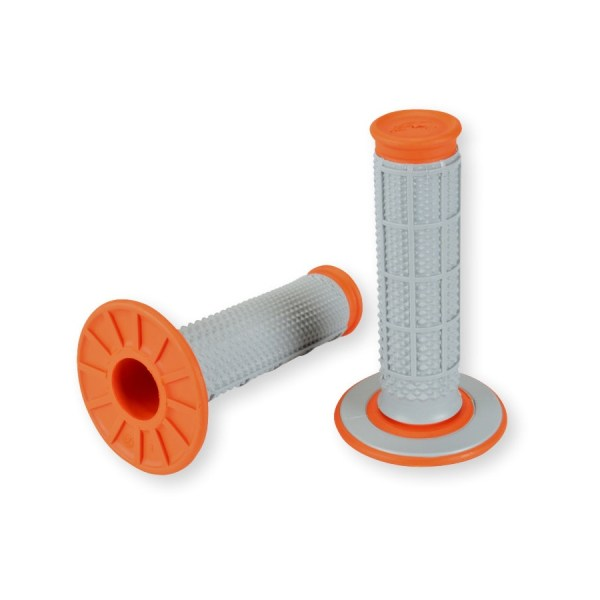 Renthal Grip Tapered Dual Compound Orange