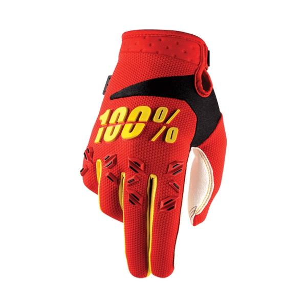 100% Airmatic Röd-Gul
