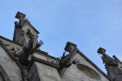 Iguana gargoyles on the Basilica