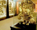Museo del oro, contains more than 34,000 gold pieces from all the major pre- Hispanic cultures in Colombia.